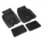 Floor Liners, Kit, Black, 93-98 Jeep Grand Cherokee (ZJ)
